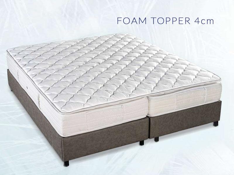 Ανώστρωμα Foam Topper 4cm
