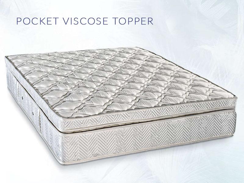 Ανώστρωμα Pocket Viscose Topper